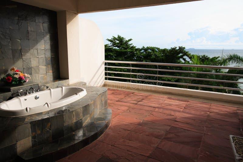Interior do banheiro, wc, toilette, banheiro, lavabos, toalete fotografia de stock royalty free