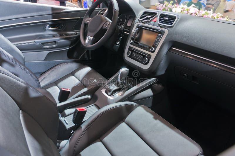 Interior do carro fotografia de stock