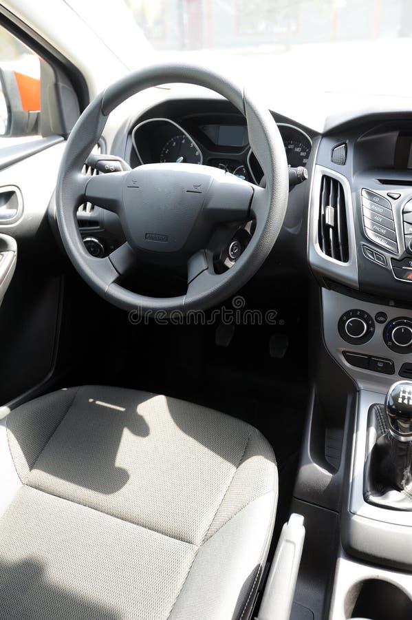 Interior do carro foto de stock royalty free
