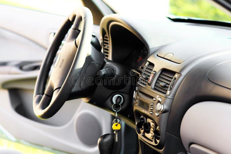 Interior do carro imagens de stock