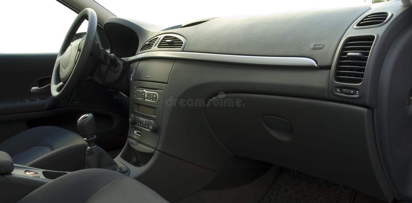 Interior do carro imagem de stock royalty free