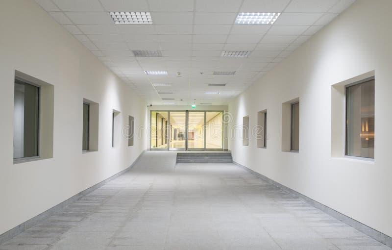 Interior do centro de negócios de Moder fotografia de stock royalty free