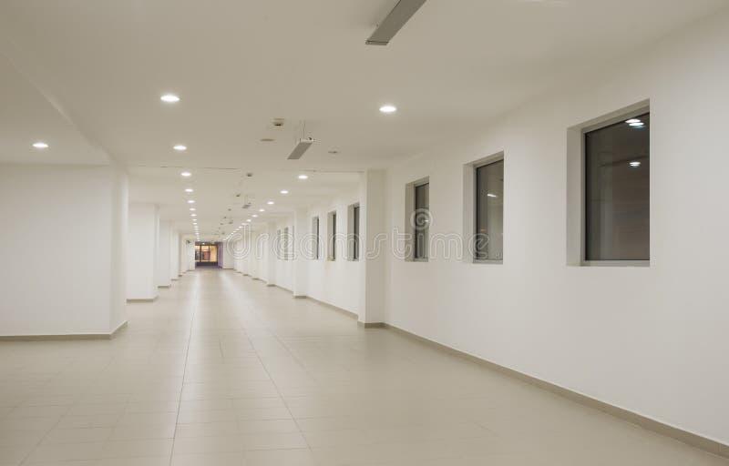 Interior do centro de negócios de Moder imagem de stock