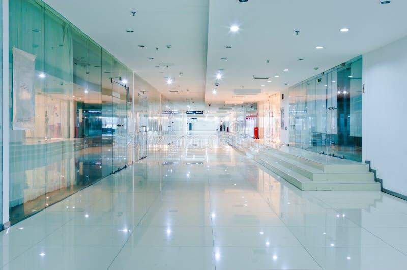 Interior do corredor imagem de stock