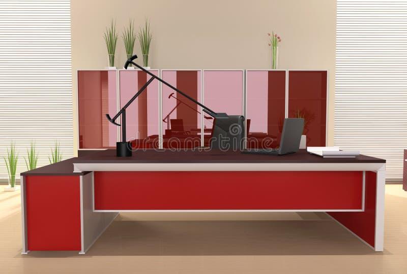 Interior do escritório moderno ilustração stock