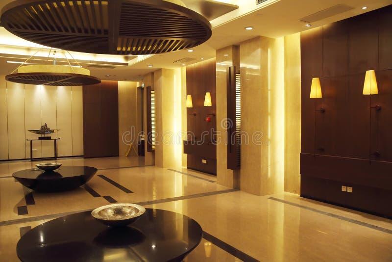 Interior do hotel imagens de stock