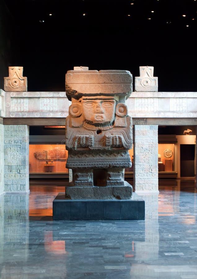 Interior do Museu Nacional em Cidade do México fotografia de stock royalty free