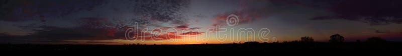 Interior do nascer do sol foto de stock royalty free