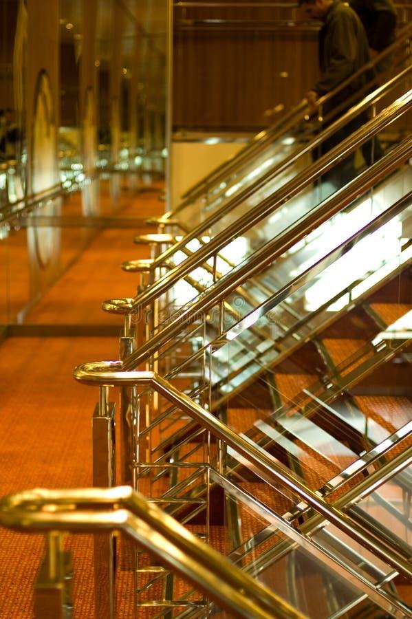 Interior do navio de cruzeiros foto de stock royalty free