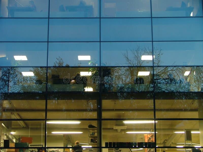 Interior do negócio foto de stock