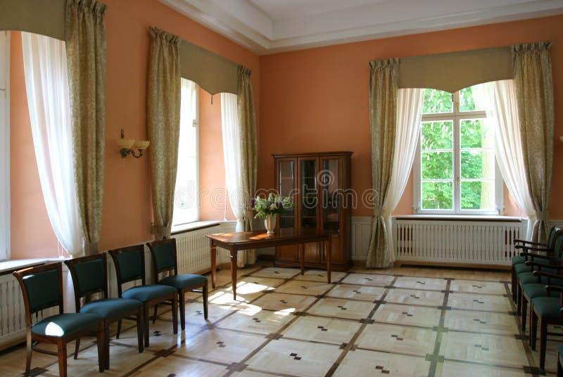 Interior do palácio foto de stock royalty free