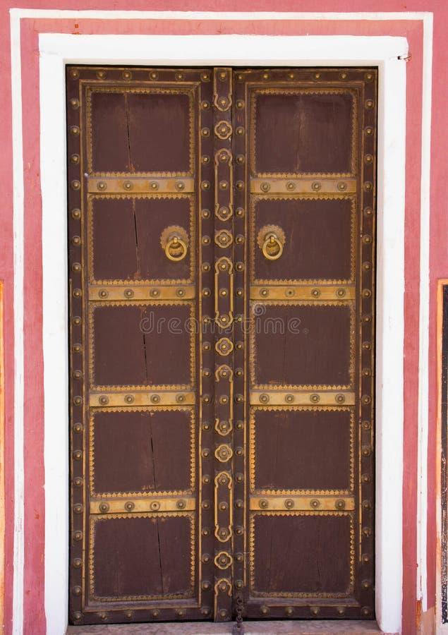 Interior do palácio Jaipur da cidade, Índia foto de stock