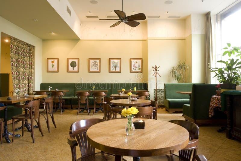 Interior do restaurante imagem de stock royalty free
