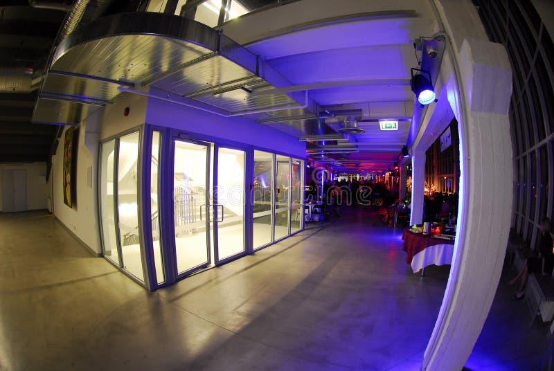 Interior do salão moderno fotografia de stock royalty free