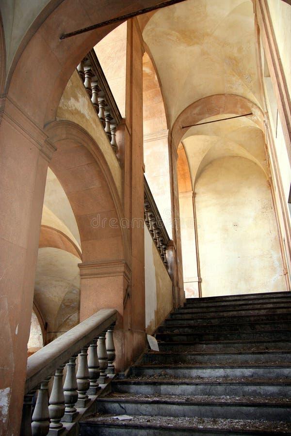 Interior do sanatório antigo imagem de stock royalty free