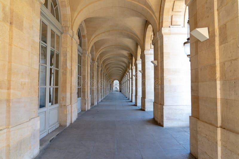 Interior do teatro do teatro da ópera na cidade França do Bordéus foto de stock