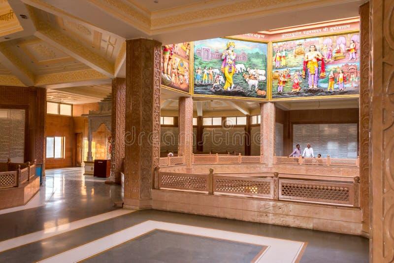 Interior do templo hindu de Tukaram de Saint imagem de stock royalty free