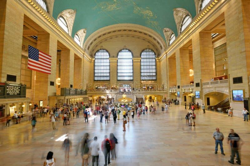 Interior do terminal de Grand Central imagens de stock royalty free