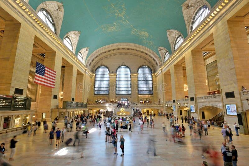 Interior do terminal de Grand Central fotografia de stock