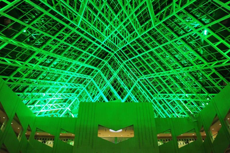 Interior do teto do salão de cidade foto de stock royalty free