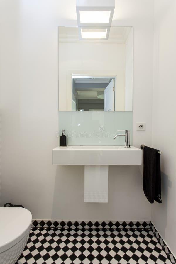 Interior do toalete fotos de stock royalty free