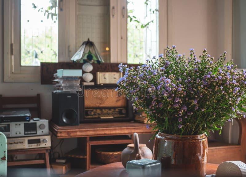 Interior do vintage imagem de stock