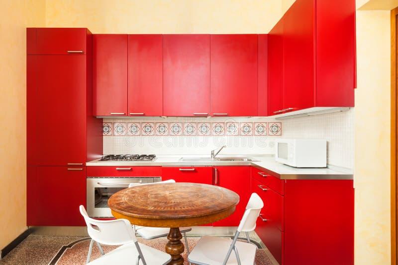Download Interior, domestic kitchen stock photo. Image of apartment - 34385084