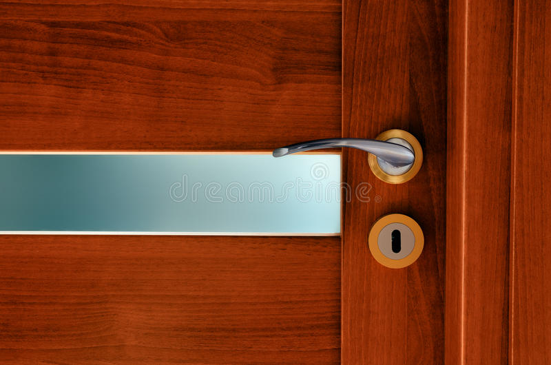 Interior Door Royalty Free Stock Image