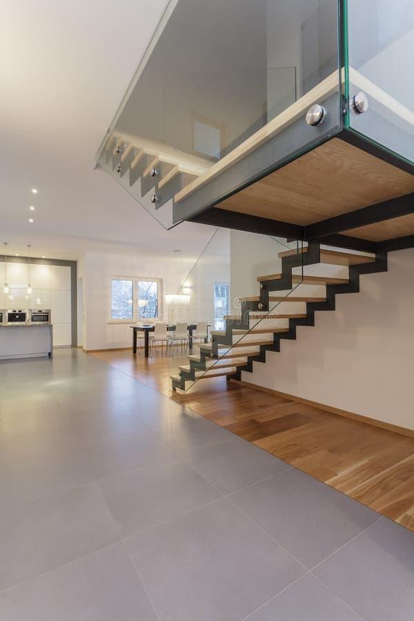 Interior dos desenhistas - escadas fotografia de stock royalty free