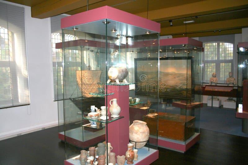 interior e exposição do museu fotografia de stock