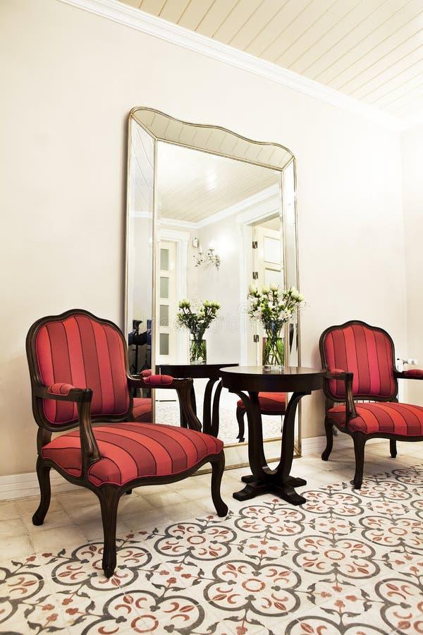 Interior em um hotel fotografia de stock royalty free
