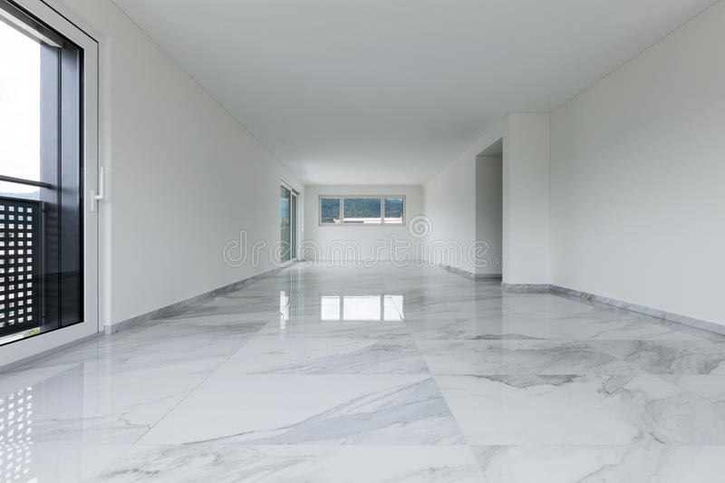 Interior of empty apartment royalty free stock image