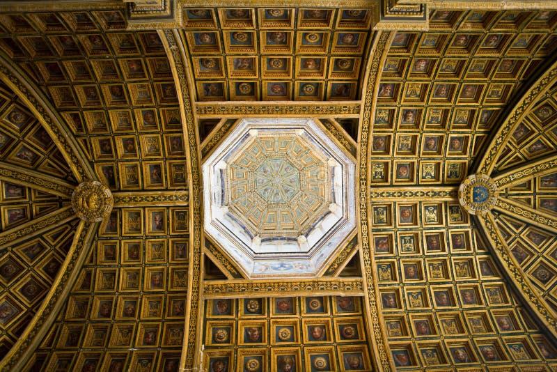 Interior en el castillo Fontainebleau 2 fotos de archivo