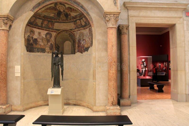 Interior extenso Art Museum conmemorativo, Rochester, Nueva York, 2017 de los objetos expuestos imagenes de archivo