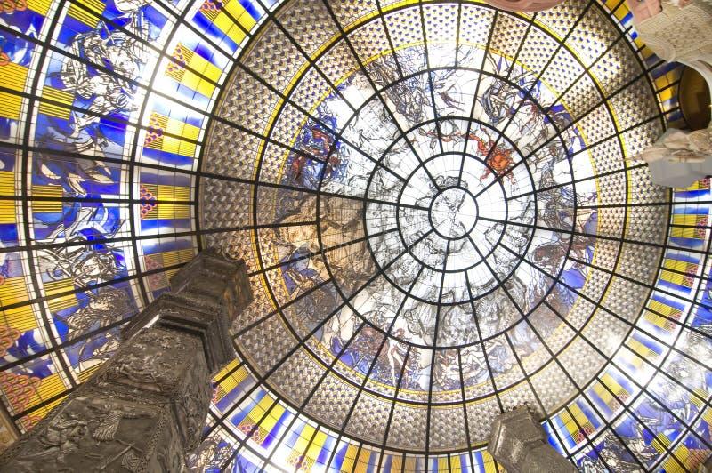 interior för konstcirkeldesign royaltyfri fotografi