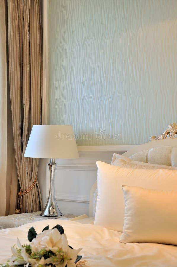 interior för sovrumgarneringfine fotografering för bildbyråer