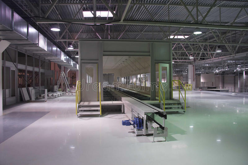 Download Interior Of The Factory Stock Image - Image: 25250221