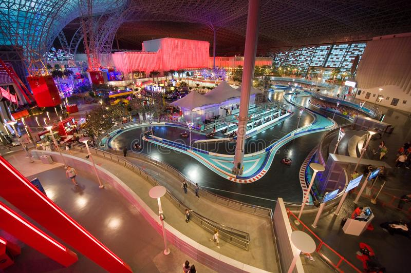 Download Interior Of Ferrari World Editorial Image Image Of Speed