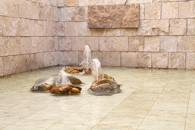 Interior Fountain royalty free stock images