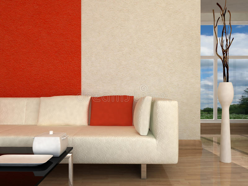 Download Interior fragment stock illustration. Image of reflection - 13042946
