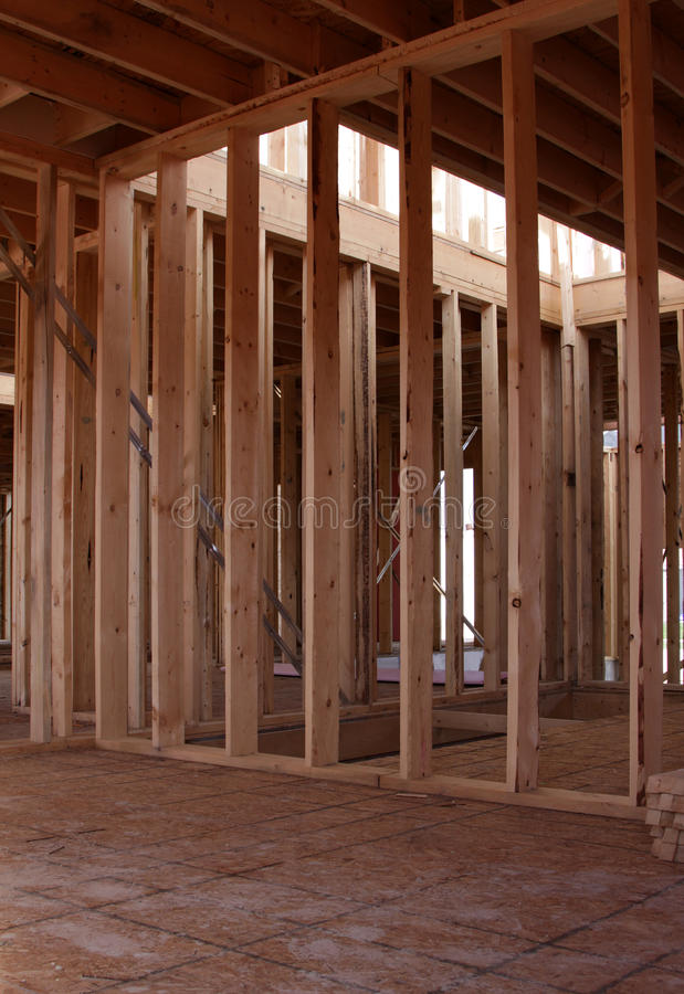 Download Interior Framing stock photo. Image of plywood, erected - 10036016