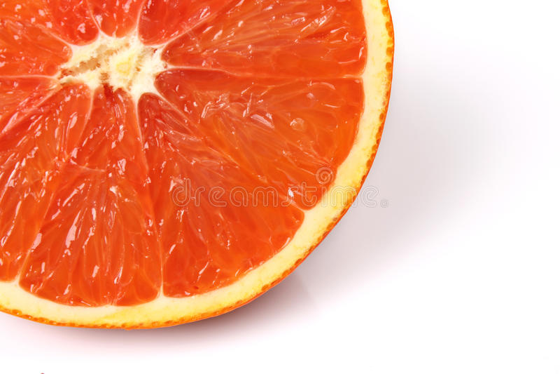 Interior fresh orange stock photos
