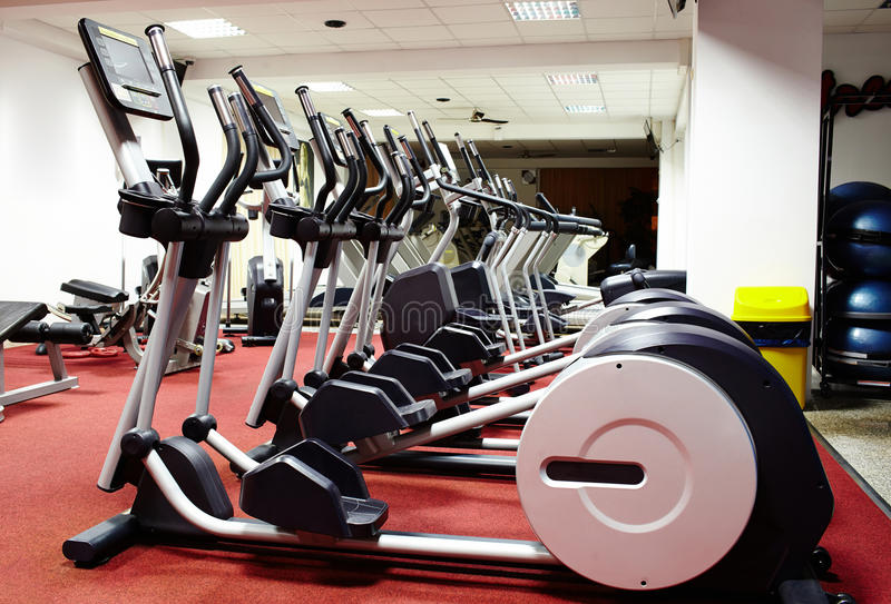 Download Interior of a gym stock photo. Image of health, inside - 37957674