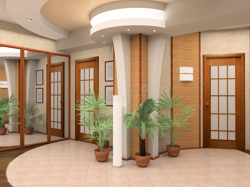 Download Interior of a hall stock image. Image of corridor, house - 2321179