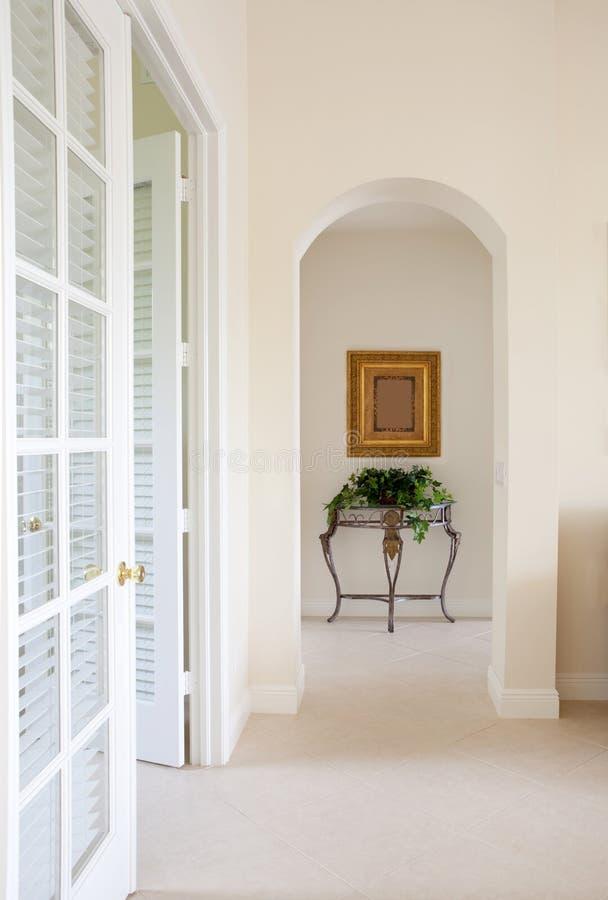 Interior Hallway stock photo