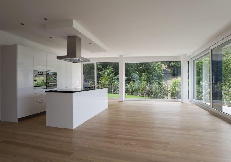 Interior hermoso de una casa moderna imágenes de archivo libres de regalías