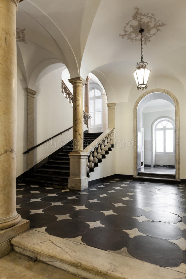 Interior historic building royalty free stock images