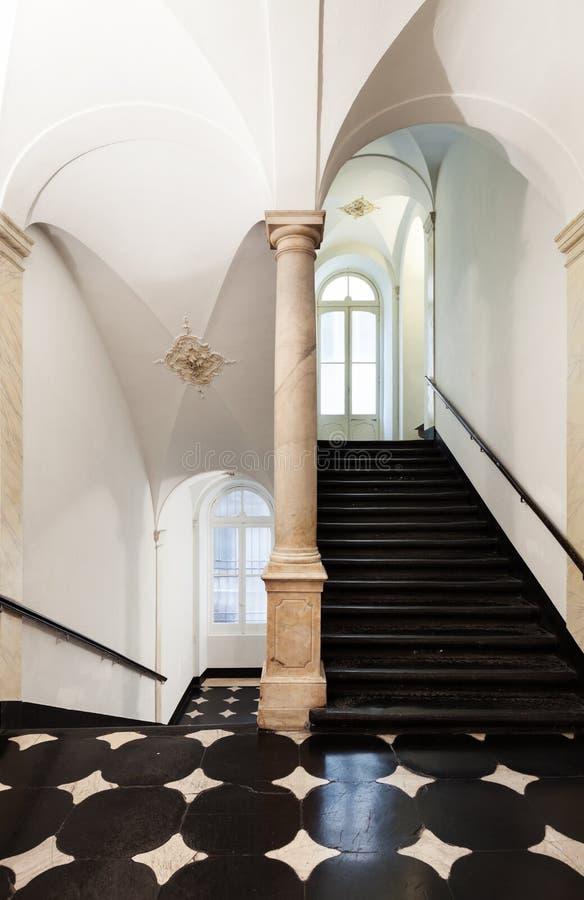 Interior historic building stock image