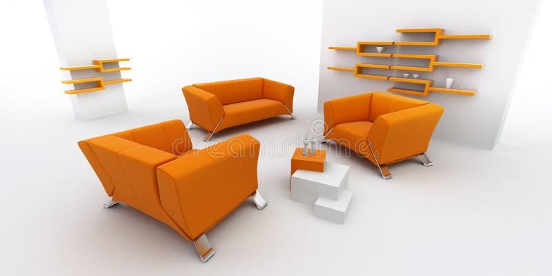 Interior Home ilustração stock