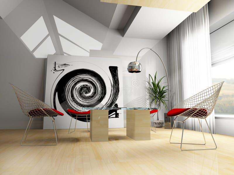 Interior Home ilustração royalty free